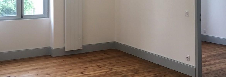 Chambre de l'un des appartements de la Chartreuse - Villenave d'Ornon